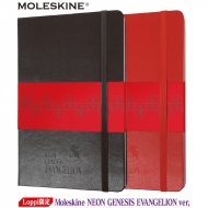 Moleskine NEON GENESIS EVANGELION ver,2冊セット(Black、Red)【Loppi限定】