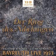 『ニーベルングの指環』全曲 C.クラウス&バイロイト、ホッター、ヴィントガッセン、他(1953 モノラル)(13CD)