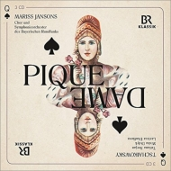『スペードの女王』全曲 ヤンソンス&バイエルン放送響、ディディク、セルジャン、他(2014 ステレオ)(3CD)