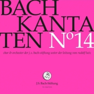 カンタータ集第14集〜第93、119、163番 ルドルフ・ルッツ&バッハ財団管弦楽団