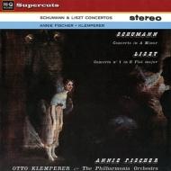 シューマン:ピアノ協奏曲、リスト:ピアノ協奏曲第1番 アニー・フィッシャー、クレンペラー&フィルハーモニア管弦楽団 (180グラム重量盤レコード/Hi-Q Records Supercuts)