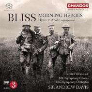 合唱交響曲『朝の英雄たち』、アポロへの賛歌 アンドルー・デイヴィス&BBC響、BBC交響合唱団