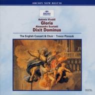 ヴィヴァルディ:グローリア、A.スカルラッティ:モテトゥス トレヴァー・ピノック&イングリッシュ・コンサート