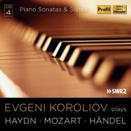 モーツァルト:ピアノ・ソナタ集、ハイドン:ソナタ集、ヘンデル:組曲集 コロリオフ(4CD)