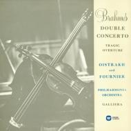 ブラームス:二重協奏曲、ブルッフ:ヴァイオリン協奏曲第1番 オイストラフ、フルニエ、ガリエラ&フィルハーモニア管、マタチッチ&ロンドン響