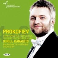 交響曲第6番、第4番(改訂版)、未完交響曲からの楽章 カラビツ&ボーンマス交響楽団