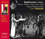『フィデリオ』全曲 マゼール&ウィーン・フィル、マルトン、アダム、キング、他(1983 ステレオ)(2CD)