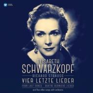 4つの最後の歌、歌曲集:エリーザベト・シュヴァルツコップ(ソプラノ)、ジョージ・セル指揮&ベルリン放送交響楽団 (アナログレコード/Warner Classics)
