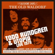 Todd Rundgren / Utopia/Live At The Old Waldorf San Francisco: August 1978 (Rmt)(Dled)