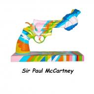 19cm Knotted Gun Sculpture(Sir Paul McCartney)