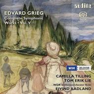 管弦楽曲全集第5集〜ソルヴェイグの歌、山の精に捕われた人、ノルウェー舞曲、他 オードラン&ケルン放送響、ティリング、エリク・リー