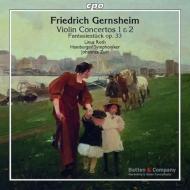 ヴァイオリン協奏曲第1番、第2番、幻想的小品集 リナス・ロス、ズール&ハンブルク響