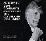 ドホナーニ&クリーヴランド管弦楽団/ライヴ録音集1984〜2001(10CD)