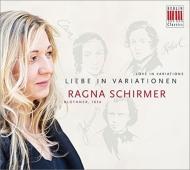 ピアノ作品集/R.schirmer: Liebe In Variationen-schumann C.schumann Brahms