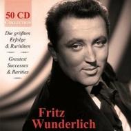 フリッツ・ヴンダーリヒ/偉大な歌唱集〜没後50周年記念ボックス(50CD)