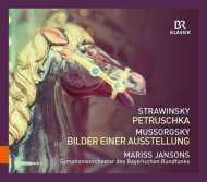 ストラヴィンスキー:『ペトルーシュカ』、ムソルグスキー:『展覧会の絵』 ヤンソンス&バイエルン放送交響楽団