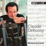 ピアノ曲集第4集〜版画、ベルガマスク組曲、子供の領分、ピアノのために、他 コルスティック