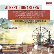 交響的三部作『オジャンタイ』、『ボーマルソ』組曲、『ファウスト』のための序曲、協奏的変奏曲 シュテフェンス&ラインラント=プファルツ州立フィル