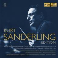 『クルト・ザンデルリング・エディション〜ブルックナー、ベートーヴェン、ブラームス、ラフマニノフ』(11CD)