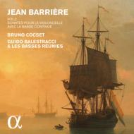 バリエール:チェロと通奏低音のためのソナタ集 Vol.2 ブリュノ・コクセ、レ・バッス・レユニ