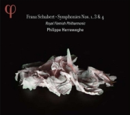 交響曲第1番、第3番、第4番『悲劇的』 ヘレヴェッヘ&ロイヤル・フランダース・フィル(2CD)