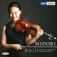 無伴奏ヴァイオリンのためのソナタとパルティータ全曲 五嶋みどり(2CD 日本語解説付)