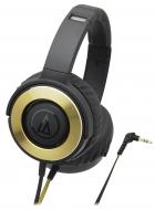 オーディオテクニカ ポータブルヘッドホン ATH-WS550 BGD (ブラックゴールド)