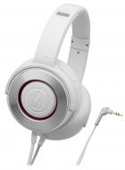 オーディオテクニカ ポータブルヘッドホン ATH-WS550 WH (ホワイト)