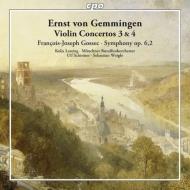 ゲンミンゲン:ヴァイオリン協奏曲第3番、第4番、ゴセック:交響曲 コーリャ・レッシング、シルマー&ミュンヘン放送管