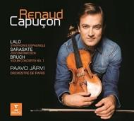 ラロ:スペイン交響曲、サラサーテ:ツィゴイネルワイゼン、ブルッフ:ヴァイオリン協奏曲第1番 ルノー・カプソン、パーヴォ・ヤルヴィ&パリ管