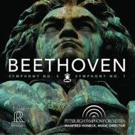 交響曲第5番『運命』、第7番 マンフレート・ホーネック&ピッツバーグ交響楽団