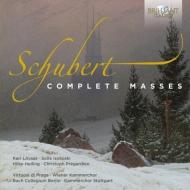 ミサ曲全集 ベルニウス&ドイツ・カンマーフィル、ギレスベルガー&ウィーン響、ガンドルフィ&プラハ室内管、他(4CD)