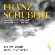 交響曲第9番『グレート』、第8番『未完成』 フィリップ・ジョルダン&ウィーン交響楽団