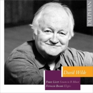 リスト:ピアノ・ソナタ、ブゾーニ:エレジー デイヴィッド・ワイルド