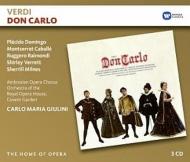 『ドン・カルロ』5幕版全曲 カルロ・マリア・ジュリーニ&コヴェント・ガーデン王立歌劇場、ドミンゴ、カバリエ、他(1970 ステレオ)(3CD)