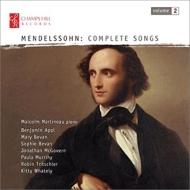 Complete Lieder Vol.2: S & M.bevan(S)Tritschler(T)Mcgovern Appl(Br)Martineau(P)