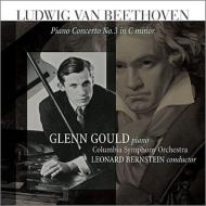 ピアノ協奏曲第3番:グレン・グールド(ピアノ)、レナード・バーンスタイン指揮&コロンビア交響楽団 (アナログレコード)