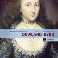 ダウランド:歌曲集、バード:様々な自然の歌 ヒリアー&ヒリヤード・アンサンブル、ロンドン・バロック(2CD)