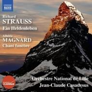 R.シュトラウス:英雄の生涯、マニャール:葬送の歌 ジャン=クロード・カサドシュ&リール国立管弦楽団