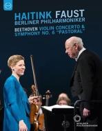 交響曲第6番『田園』、ヴァイオリン協奏曲 ハイティンク&ベルリン・フィル、イザベル・ファウスト
