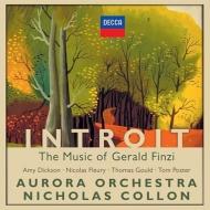 『入祭唱〜フィンジの音楽』 コロン&オーロラ管弦楽団、エイミー・ディクソン