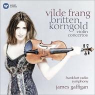 コルンゴルト:ヴァイオリン協奏曲、ブリテン:ヴァイオリン協奏曲 フラング、ガフィガン&フランクフルト放送響