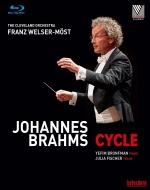 交響曲全集、管弦楽曲集、ピアノ協奏曲第1番、第2番、ヴァイオリン協奏曲 ヴェルザー=メスト&クリーヴランド管、ブロンフマン、J.フィッシャー(3BD)
