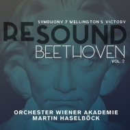 RE-SOND BEETHOVEN Vol.2〜ベートーヴェン:交響曲第7番、ウェリントンの勝利、他 マルティン・ハーゼルベック、ウィーン・アカデミー管弦楽団