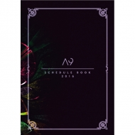 A9 SCHEDULE BOOK 2016/ MIDNIGHT GALAXY SPECIAL GOODS -theDIVINE-