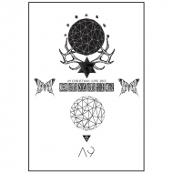MESSAGE POSTER PAMPHLET/ MIDNIGHT GALAXY SPECIAL GOODS -theDIVINE-
