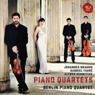 Berlin Piano Quartet : Brahms Piano Quartet No.1, Faure Piano Quartet No.1, Schnittke Piano Quartet