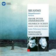 二重協奏曲、ホルン三重奏曲 ツィンマーマン、ハインリヒ・シフ、ノイネッカー、サヴァリッシュ&ロンドン・フィル