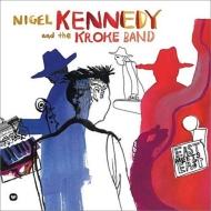 「イースト・ミーツ・イースト」:ナイジェル・ケネディ(ヴァイオリン)&クローケ(ワールド・ミュージック・バンド)(2枚組アナログレコード/Warner Classics)