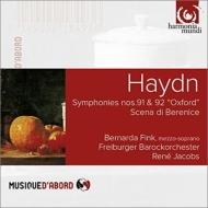 交響曲第92番『オックスフォード』、第91番、『ベレニーチェはどうするのだ』 ヤーコプス&フライブルク・バロック・オーケストラ、B.フィンク